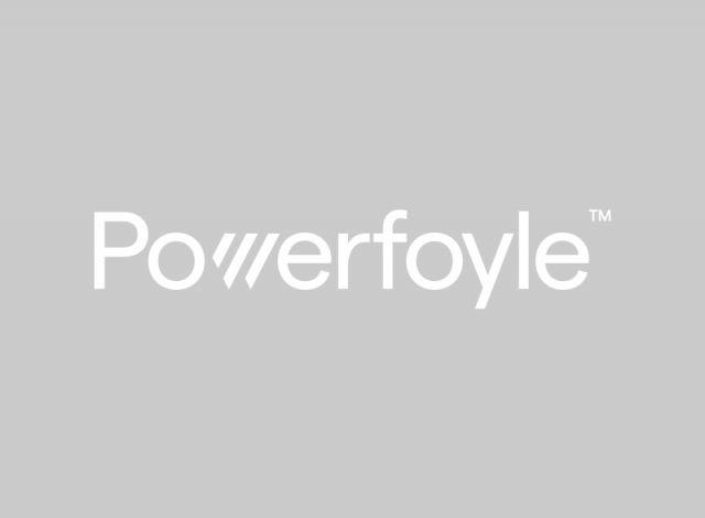 Powerfoyle white